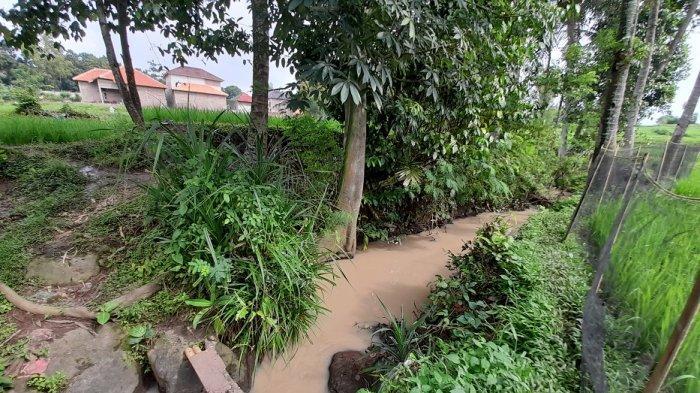 Kali di Kecamatan Taktakan, Kota Serang, yang biasa dipakai untuk membuang hajat.
