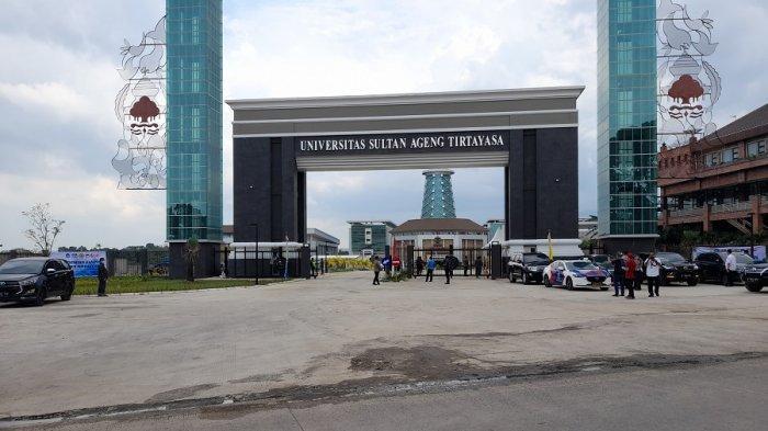 Presiden Joko Widodo (Jokowi) dalam kunjungan kerjanya ke Banten  juga meresmikan kampus baru Universitas Sultan Ageng Tirtayasa (Untirta) di Desa Sindangsari, Kecamatan Pabuaran Kabupaten Serang, Kamis (4/3/2021).