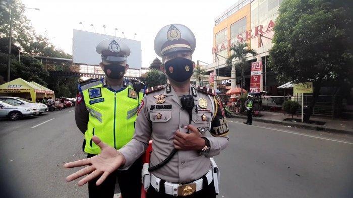 Pengendara Motor yang Pakai Knalpot Bising Kini Jadi Incaran Anggota Satlantas Polres Serang Kota