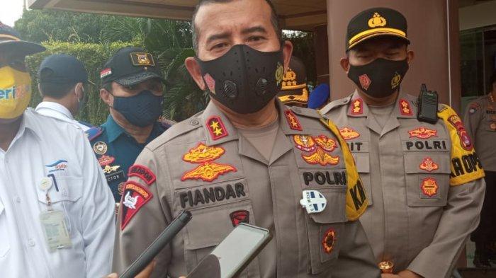 Kapolda Banten: Pembelian Tiket Online Kurangi Kepadatan Arus Kendaraan Bermotor di Pelabuhan Merak