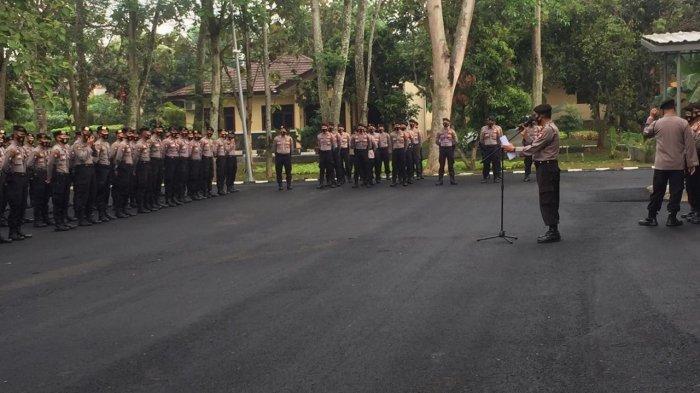 Kapolda Banten Minta Jajaran Patuhi Protokol Kesehatan Saat Bertugas