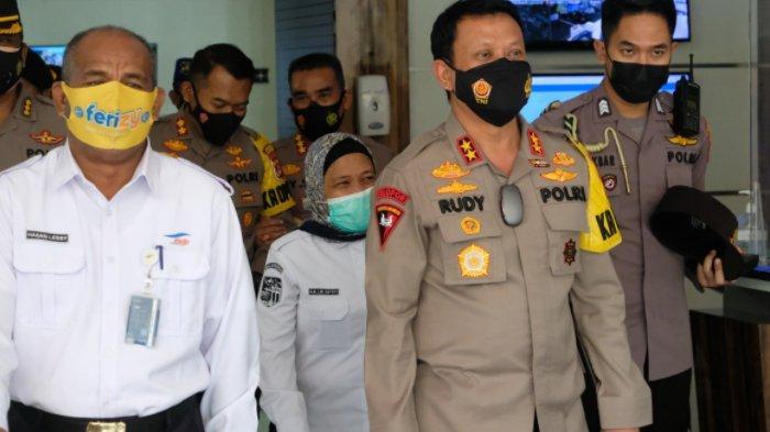 Soal Larangan Mudik, Kapolda Banten Tinjau Pelabuhan Merak