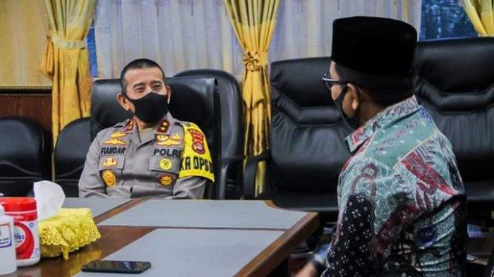 Kapolda Banten Irjen Pol Fiandar Mendatangi DPRD Banten, Membahas Beberapa Poin