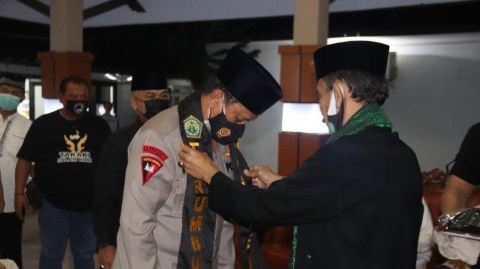 Kapolda Banten Didapuk jadi Dewan Pembina Perguruan Pencak Silat Terumbu Banten