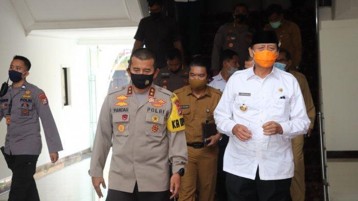 Kapolda Banten: Bacalon Kepala Daerah Harus Jadi Contoh Penerapan Protokol Kesehatan