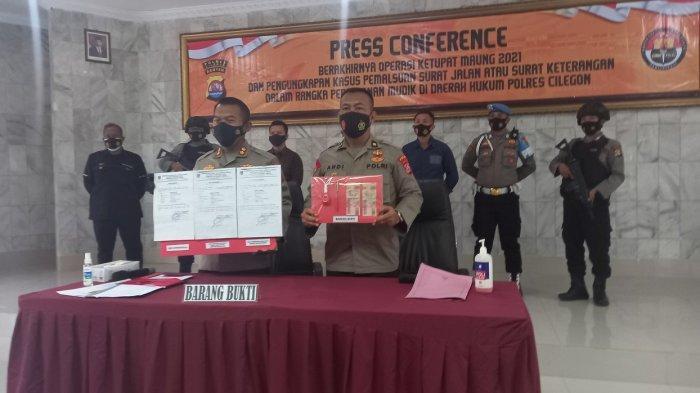 Polres Cilegon Tangkap Pemalsu Surat Keterangan Jalan dan Sehat Pemudik, 1 Nama Tarifnya Rp 200.000