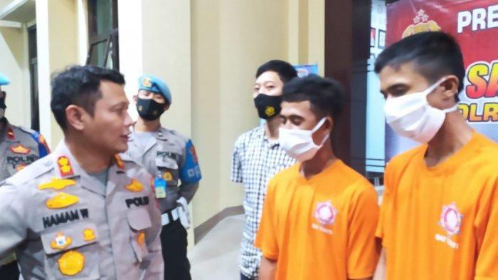 Dua Pemuda Ditangkap di Pasar Cibaliung Pandeglang saat Hendak Menjual 1.000 Ekor Lobster
