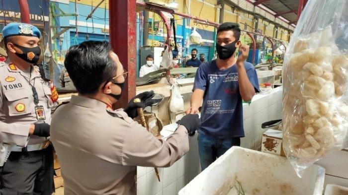 Polresta Tangerang Sidak Masker di City Market, Apa Hasilnya?