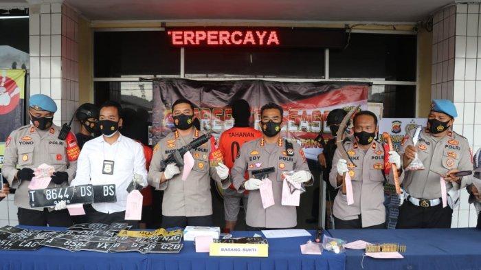 Polresta Tangerang Ungkap Kasus Pencurian Mobil Pick Up, Tiga Pelaku Melarikan Diri