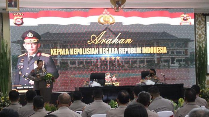 Kapolri Jenderal Pol Listyo Sigit Prabowo mengapresiasi Program Pendekar Banten Kapolda Irjen Pol Rudy Heriyanto Adi Nughroho.