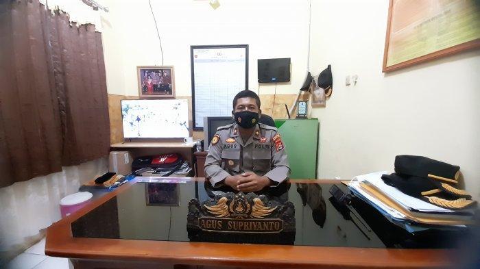 Kapolsek Cipocok Jaya Kompol Agus Supriyanto di kantor Mapolsek Cipocok Jaya, Jalan Raya Petir-Serang, Kota Serang, Banten. Jumat (19/3/2021).