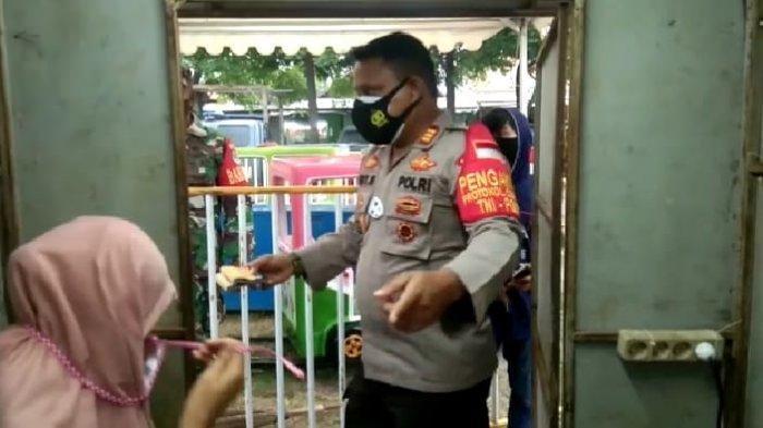 Pasar Malam di Pakuhaji Kabupaten Tangerang Disegel Aparat Kepolisian