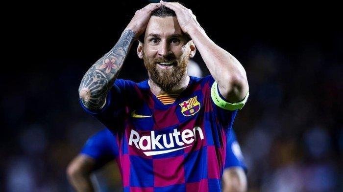 BREAKING NEWS: Lionel Messi Ingin Tinggalkan Barcelona dan Pilih Manchester City, Messi Katakan Ini