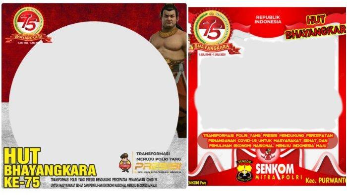 Link Twibbon HUT ke-75 Bhayangkara, Download Ucapan Selamat Hari Bhayangkara 2021 di Twibbonize.com