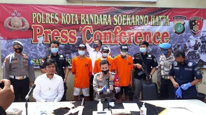 Remaja 14 Tahun Jadi Otak Kawanan Begal di Bandara Soekarno Hatta Tangerang,