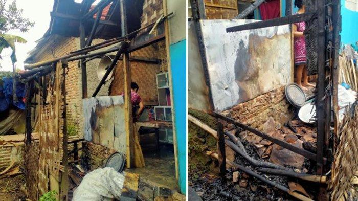 Lupa Matikan Kayu Bakar, Rumah Warga di Ciomas Serang Nyaris Ludes Terbakar