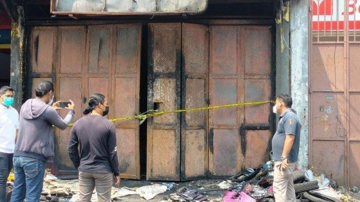 kebakaran besar terjadi disebuah bengkel yang berada di Jalan Cemara Raya, Kecamatan Cibodas, Kota Tangerang pada Sabtu (7/8/2021) dini hari, Senin (9/8/2021).