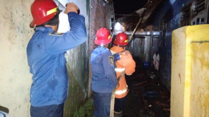 Rumah Warga di Kabupaten Serang Hangus Terbakar, Diduga Akibat Konsleting Listrik