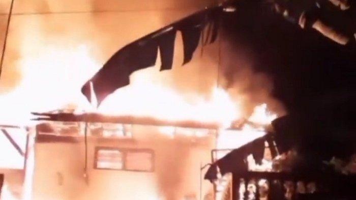Detik-detik Kebakaran di Rangkabitung, Saksi: Terdengar Teriakan Minta Tolong Berkali-kali