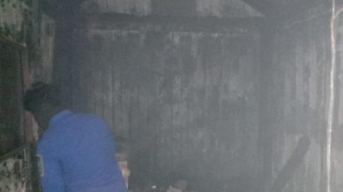 Diduga Adanya Korsleting Listrik, Mes Karyawati PT Cilegon Febricatoras Hangus Terbakar