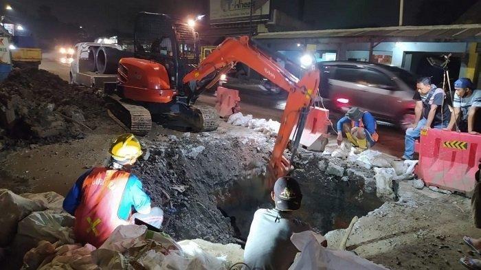 Lima Kecamatan di Tangerang Krisis Air Bersih Akibat Pipa PDAM Bocor