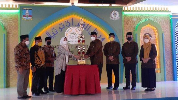 Kecamatan Tanara Juara Umum MTQ KE-51 Kabupaten Serang, Pemkab Akan Beasiswa dan Pembinaan