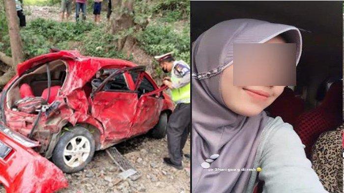 Bak Sudah Ada Firasat, Ibunda Bongkar Gelagat Mahasiswi di Banten Sebelum Tewas Kecelakaan