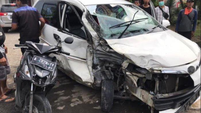 Kecelakaan Beruntun Libatkan 3 Kendaraan di Jalan Raya Serang-Tangerang, Diduga Sopir Mengantuk