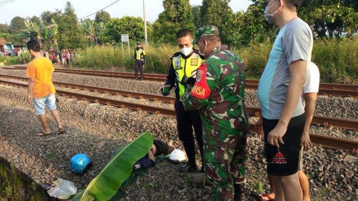 Tragis, Satu Keluarga Boncengan Bertiga Tewas Disambar Kereta di Tangerang