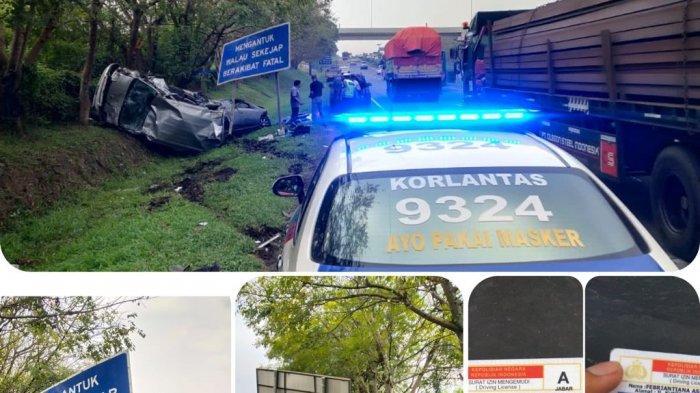 Kronologi Kecelakaan Grand Max Menabrak Ayla di Tol Tangerang-Merak