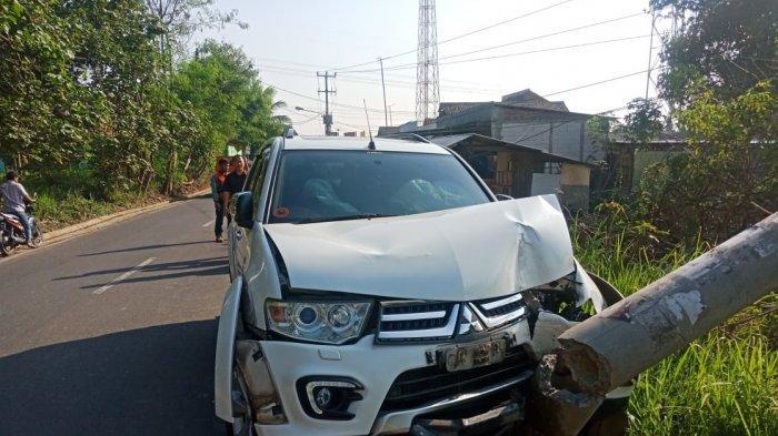 Gara-gara Kecelakaan Mobil Kelurahan Dalung Serang Alami Pemadaman Listrik Bergilir