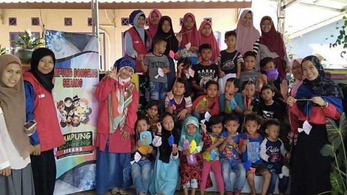 Tingkatkan Kemampuan Baca dan Tulis Anak dengan Cara Unik, Kampung Dongeng Hadir di Kota Serang