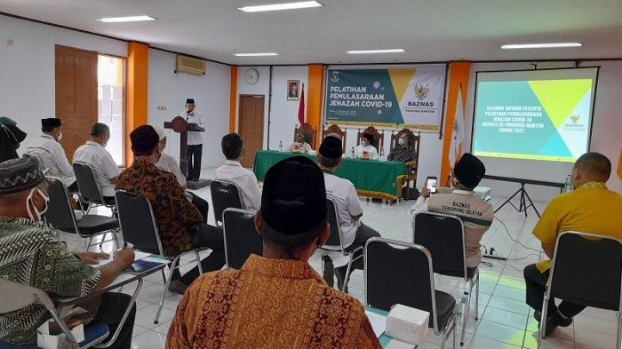 Baznas Gelar Pelatihan Pemulasaran Jenazah Covid-19 untuk 36 Peserta se-Provinsi Banten