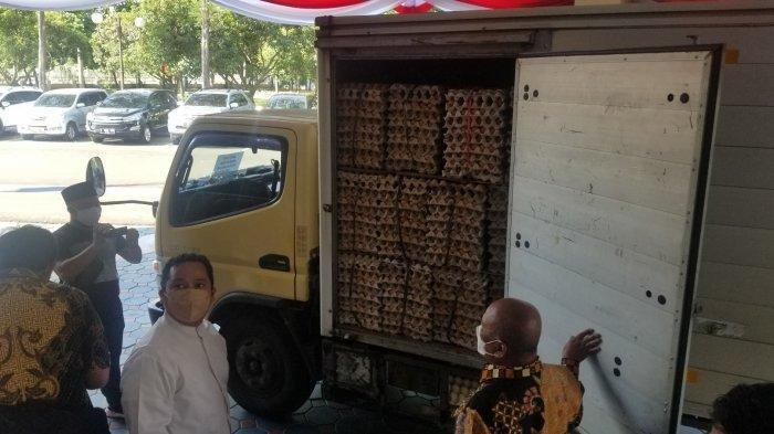 Siap-siap, Nakes hingga Pasien Covid-19 di Kota Tangerang Diberi Asupan 3 Ton Telur