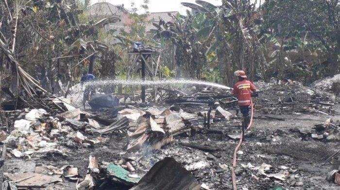 Pemukiman Pemulung di Bintaro Kebakaran, 100 Rumah Ludes