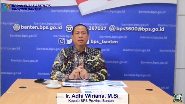 Kepala BPS Provinsi Banten, Adhi Wiriana