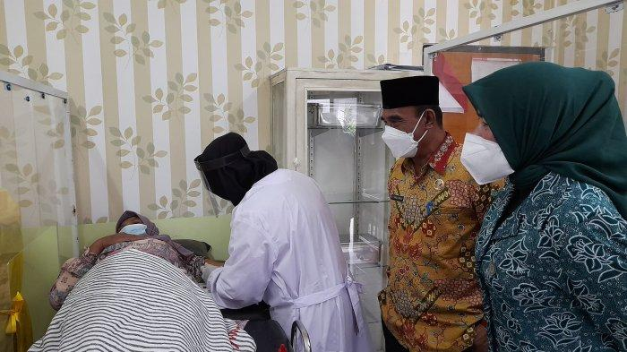DKBP3A Kabupaten Serang Berikan Pelayanan KB Gratis dalam Rangka Memperingati Harganas 2021