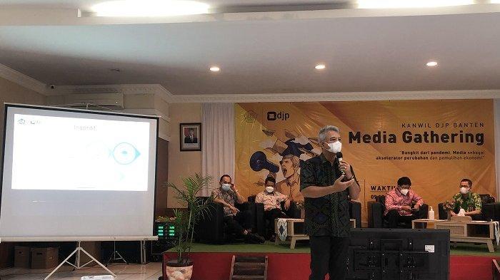 Lebih 600 Ribu Wajib Pajak di Banten Sudah Lapor SPT, Minta Media Terus Sosialisasikan Pajak