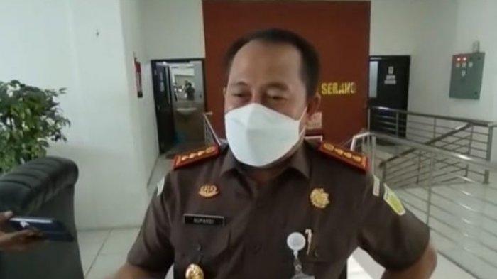 Kepala Kejaksaan Negeri Serang, Supardi, kantor Kejari Serang, Cipocok Jaya, Kota Serang, Kamis (3/6/2021).