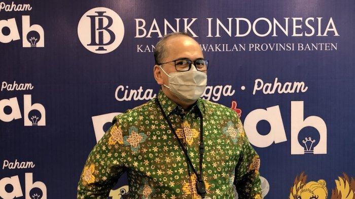 Kepala Perwakilan Bank Indonesia (BI) Provinsi Banten, Erwin Soeriadimadja.