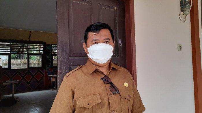 Kepala SMAN 1 Bandung, Priyadi, di SMAN 1 Bandung, Kabupaten Serang, Senin (6/9/2021).