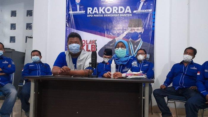 Iti Jayabaya Pastikan Demokrat Banten akan Lawan Hasil KLB Sumut