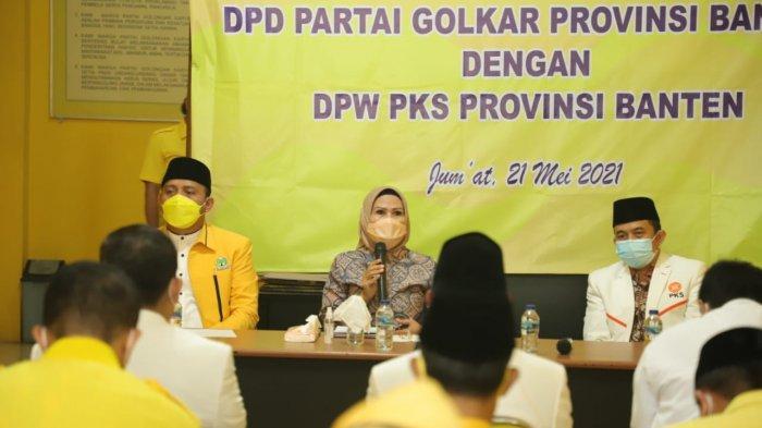 DPW PKS Banten Kunjungi Kantor DPD Partai Golkar, Apakah Bakal Berkoalisi di Pilgub Banten?