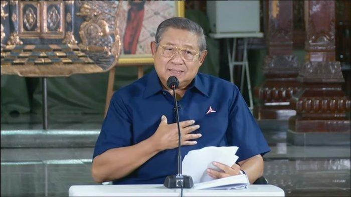Ketua Majelis Tinggi Partai Demokrat, Susilo Bambang Yudhoyono (SBY) mengeluarkan pernyataan sikapnya atas hasil Kongres Luar Biasa (KLB) Demokrat di Deli Serdang Sumatera Utara yang melahirkan ketua umum baru yakni Kepala Staf Presiden (KSP) Moeldoko.