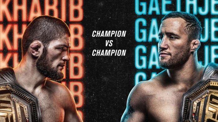 Jadwal Lengkap UFC dan Link Live Streaming Khabib Nurmagomedov vs Justin Gaethje Malam Ini