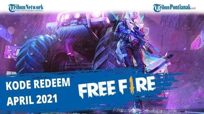 Kode Redeem FF 16 April 2021, Klaim dan Dapatkan Senjata Free Fire