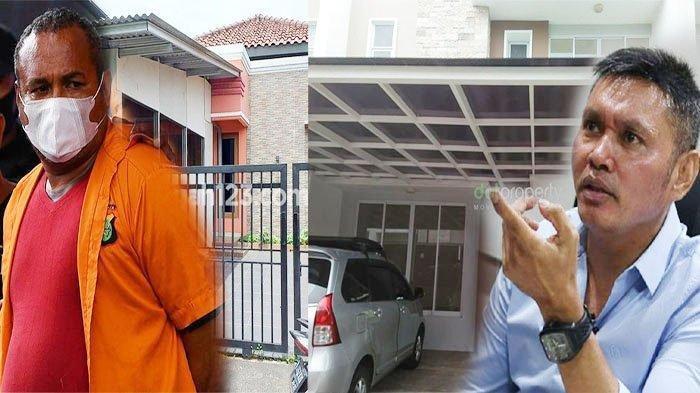 Kolase John Kei dan pamannya, Nus Kei serta rumah Nus Kei yang menjadi lokasi penyerangan anak buah John Kei di Green Lake City, Kota Tangerang.