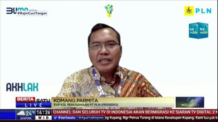 Executive Vice President Kesehatan, Keselamatan, Keamanan dan Lingkungan (K3L) PLN, Komang Parmita.