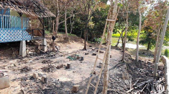 Ponpes Riadusibbyan Terbakar, Ustaz Suandi Ingin Dibangun Kembali, Camat Petir Berupaya Membantu
