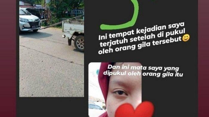 Ibu dan Anak Dipukul ODGJ Hingga Jatuh dari Motor di Pamulang, Warga Sudah Lapor Tapi Belum Ditindak